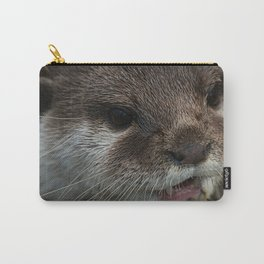 Otterly Sweet Face Carry-All Pouch