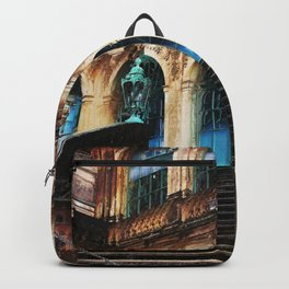 Zwinger Dresden abstract Backpack