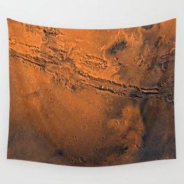 Valles Marineris, Mars Wall Tapestry