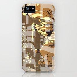 Manga 08 iPhone Case