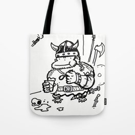 Viking Ape Enoys Cup of Yogurt Tote Bag