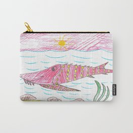 Tennessee Lake Sturgeon Carry-All Pouch