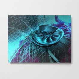 The Fascinator Metal Print