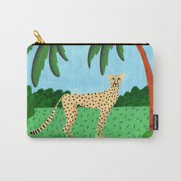 Cheetah in the jungle Carry-All Pouch