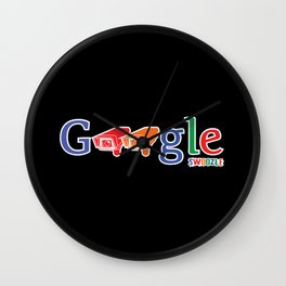 Swoozle - Who Watches Over You? Wall Clock