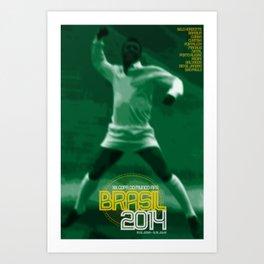 World Cup: Brazil 2014 Art Print