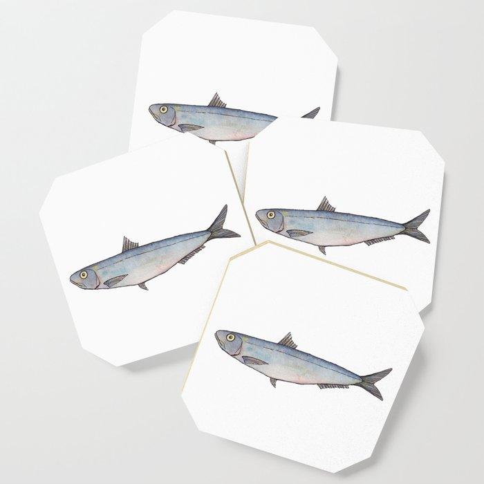 Sardine: Fish of Portgual Coaster