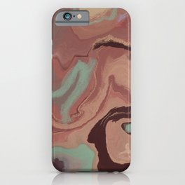 Abstract Canyon iPhone Case