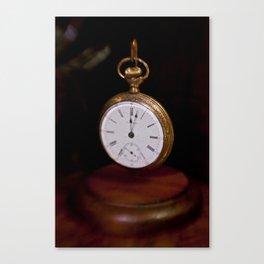 Waltham Pocket Watch #003 Canvas Print
