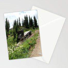 Black Bear Pass Road - Gold Rush Ore Loading Chute, No. 2 of 3 Stationery Cards