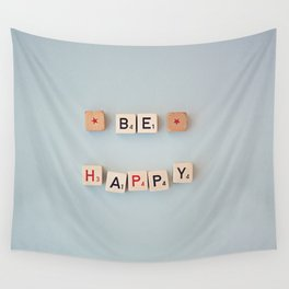 be happy Wall Tapestry