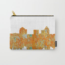 Greensboro, NC Skyline - Rust Carry-All Pouch