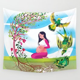 Cycle of Life Wall Tapestry