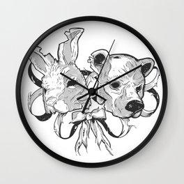 Ribbons Wall Clock
