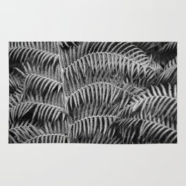 Darkness falls in the forest Rug