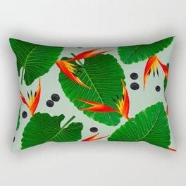 Costa Rican Print Rectangular Pillow