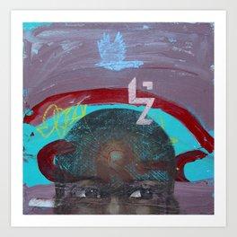 Swazi Art 12 Art Print