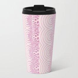 pattern rose tones Travel Mug