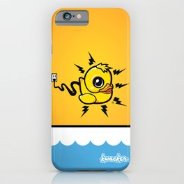 Unplug It! iPhone Case