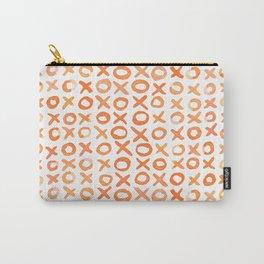 Xoxo valentine's day - orange Carry-All Pouch