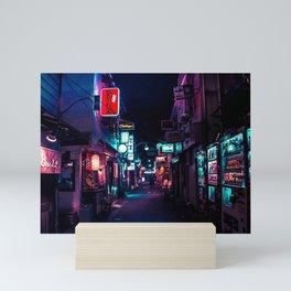 Late Night in Shinjuku's Golden Gai Mini Art Print