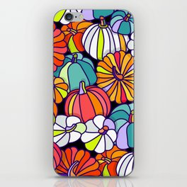 Pumpkin Pattern iPhone Skin