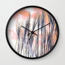 Reed - Rose Wall Clock