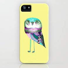 Owl Print Slim Case iPhone SE