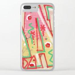 Nada Clear iPhone Case