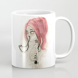 The inability to perceive with eyes notebook III Coffee Mug