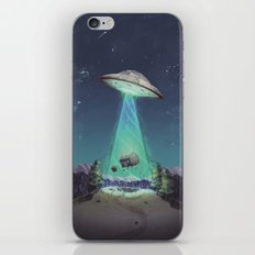 Abducted iPhone Skin