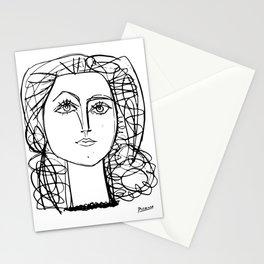 Francoise Gilot Portrait by Pablo Picasso, 1946 Artwork T Shirt, Reproduction Sketch, Tshirts, Poste Stationery Cards