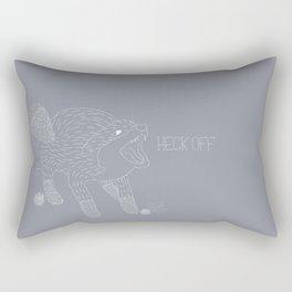 A Heckin' Fox Rectangular Pillow