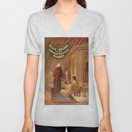 Vintage poster - Whiskey Unisex V-Neck
