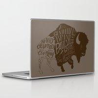 buffalo Laptop & iPad Skins featuring Buffalo by Paul McCreery