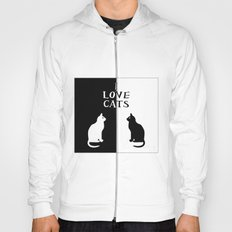 OPPOSITES LOVE: CATS Hoody