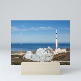 Falcon 9 Sentinel 6 Mini Art Print