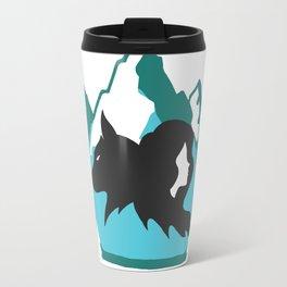 Goldilocks and the Wolf Travel Mug