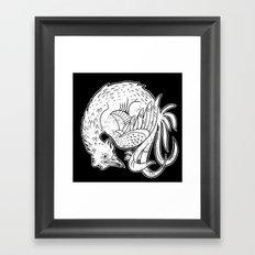 Rooster Print Framed Art Print
