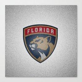 Panthers Logo Canvas Print