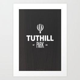 Tuthill Park Art Print
