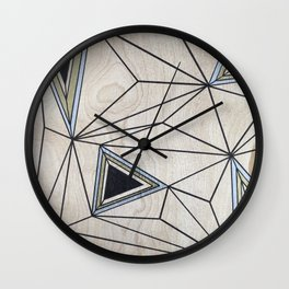 Geometric Study on Wood Wall Clock