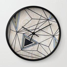 Geometric Study on Wood Wall Clock