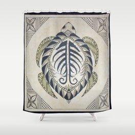 Sacred Turtle Shower Curtain