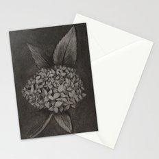Charcoal Hydrangea Stationery Cards