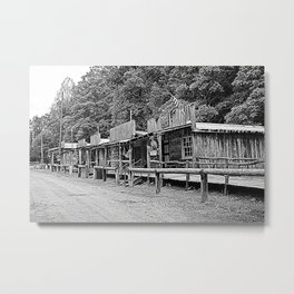Row Of Merchants Metal Print