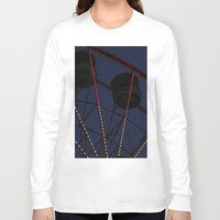 ferris wheel Long Sleeve T-shirts featuring Ferris Wheel  by Yellow Tie