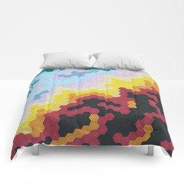 Nebula Hex Comforters