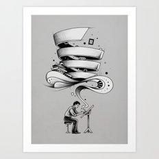 Creative Flow Art Print