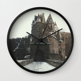Finally, a Castle - landscape photography Wall Clock